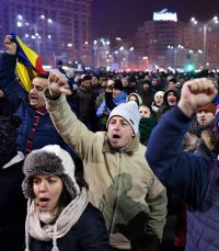 Five days that shook Romania