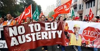Европе навязывают «меры экономии»
