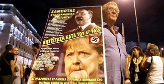 Греция – Ангеле Меркель (+фото, видео)
