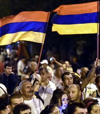Армения: весна протеста