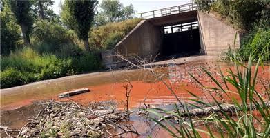 Красно-черные реки, коричневые берега