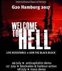 Битва за Гамбург. Взгляд изнутри протестов