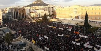 Греческий бунт: много шума и… ничего