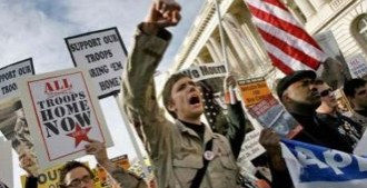 Антивоенные протесты и новая война в Ираке