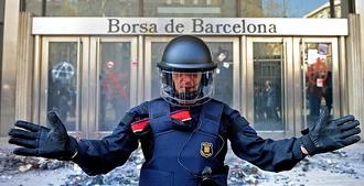 «Весь город прекратил работу». Репортаж из Барселоны (+видео)