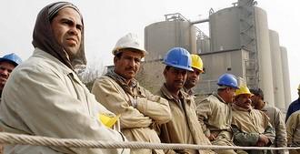 Египетские рабочие - защитники революции