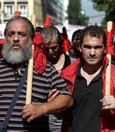 Греция против мер экономии (+фото)