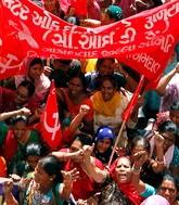 Индия: бастуют сто миллионов (+фото)
